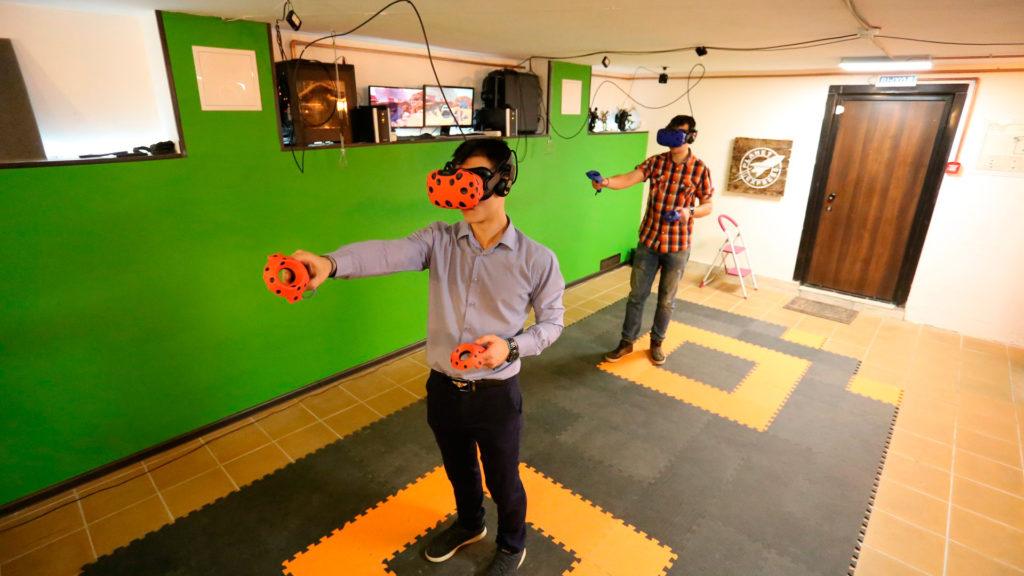 Клуб виртуальной реальности в Пскове FUTURAMA - мы рядом с Акваполисом! #futurama60